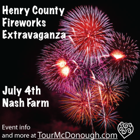 July 4th Fireworks, Atlanta, Georgia, Henry County, McDonough, 2012