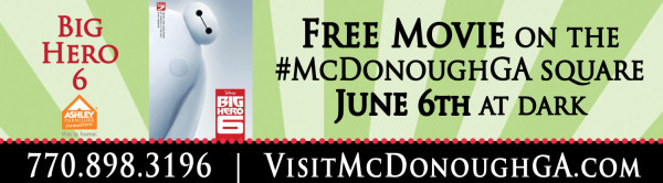 Movies On The Square, June2015, McDonough GA