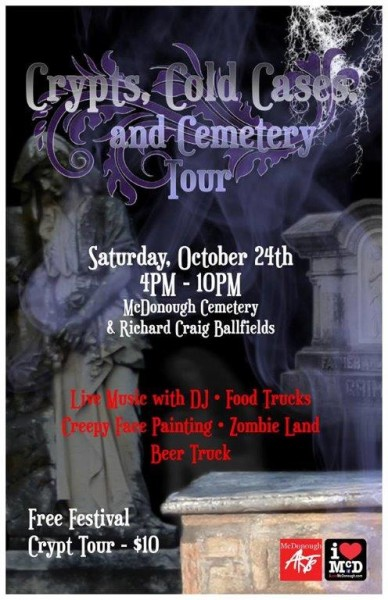 haunted, cemetery tour 2015
