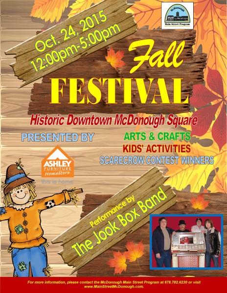Fall Festival, McDonough GA, October events