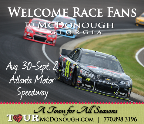 Welcome race fans information for race weekend at atlanta for Atlanta motor speedway hotels