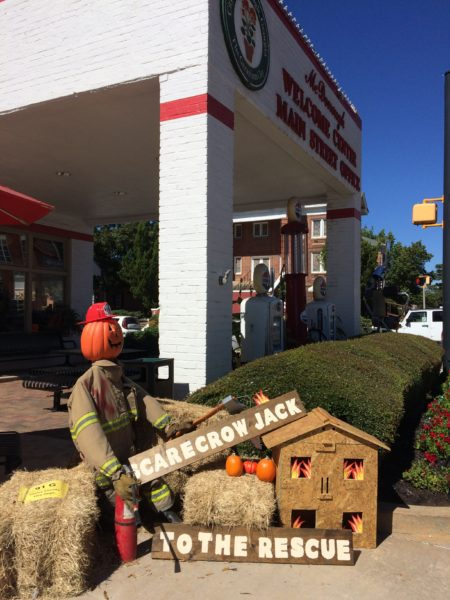 Scarecrow contest in McDonough, GA