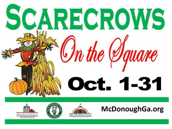 scarecrows, McDonough GA, Scarecrow contest
